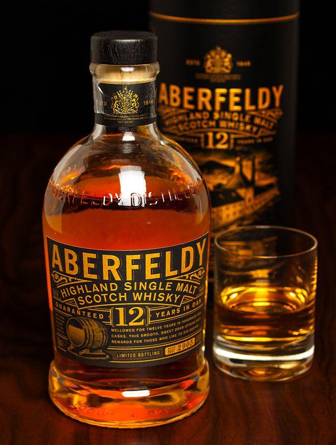 Aberfeldy Highland Single Malt Scotch Whisky 12 Years