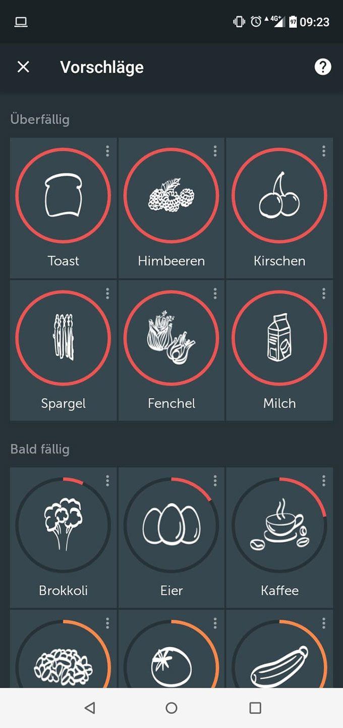 Bring! Einkaufsliste App: Screenshot Intelligente Listen