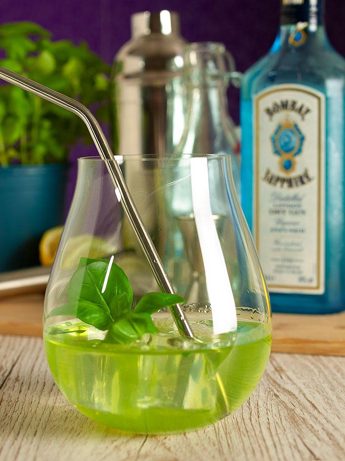 Gin Basil Smash - In Memoriam Borkum