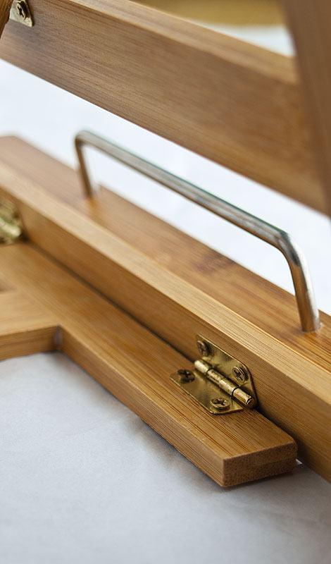 relaxdays kochbuchhalter holz kochbuchhalter naturholz bambus review untere schaniere